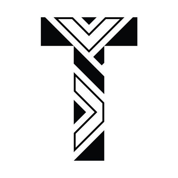 Tinderbox Theatre Company Logo Negative